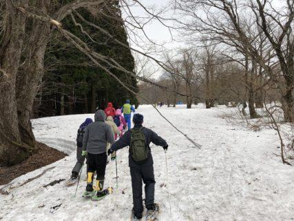 スノートレッキング体験(にかほ市・冬)