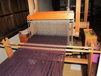 ぜんまい織り体験