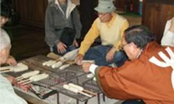 きりたんぽ作り体験(岩城)