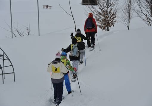 スノートレッキング体験(由利本荘市)